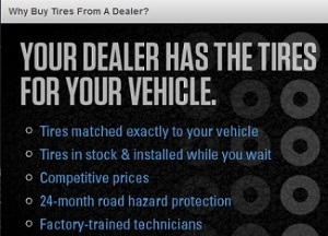 FB_Your Dealer Has teh Tires For Your Vehicle